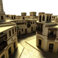 village iraq 3d model