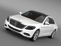 3ds max mercedes benz s 500