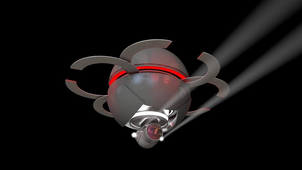 cinema4d drone xpresso controlled