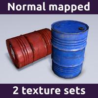 drum barrel 3d 3ds