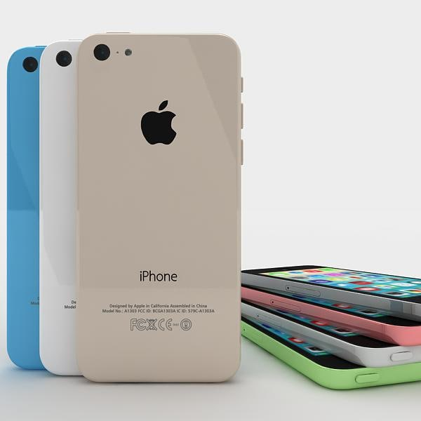 3d max apple 5c 5