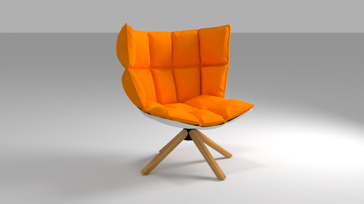 3d obj chair