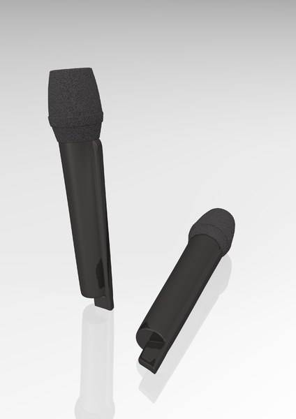 wireless microphone 3d 3ds