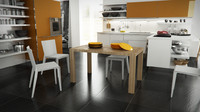 calligaris modern 140 cm 3d model