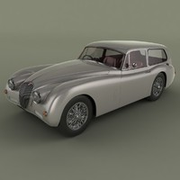 Jaguar XK150 Tow Car