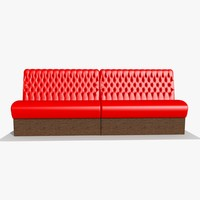 Red Bar Sofa Chair