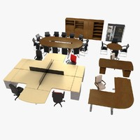 3d c4d office pack v1