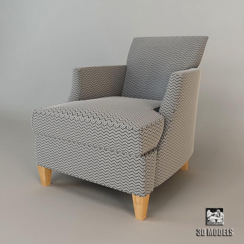 3d mood relax flexform armchair