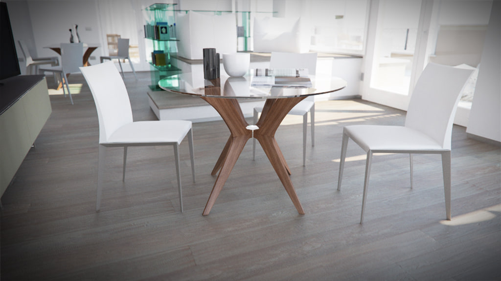 3d calligaris tokyo rounded 4 model