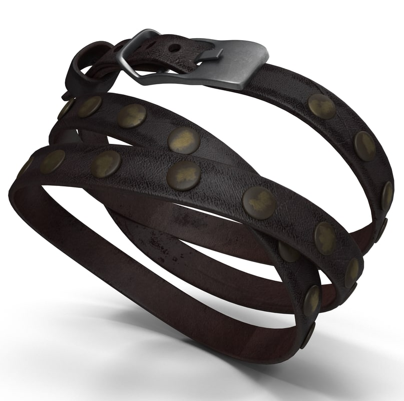 3d model leather armlet