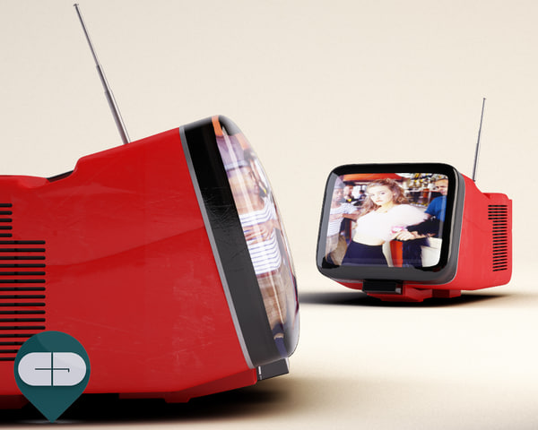 3d brionvega tv model