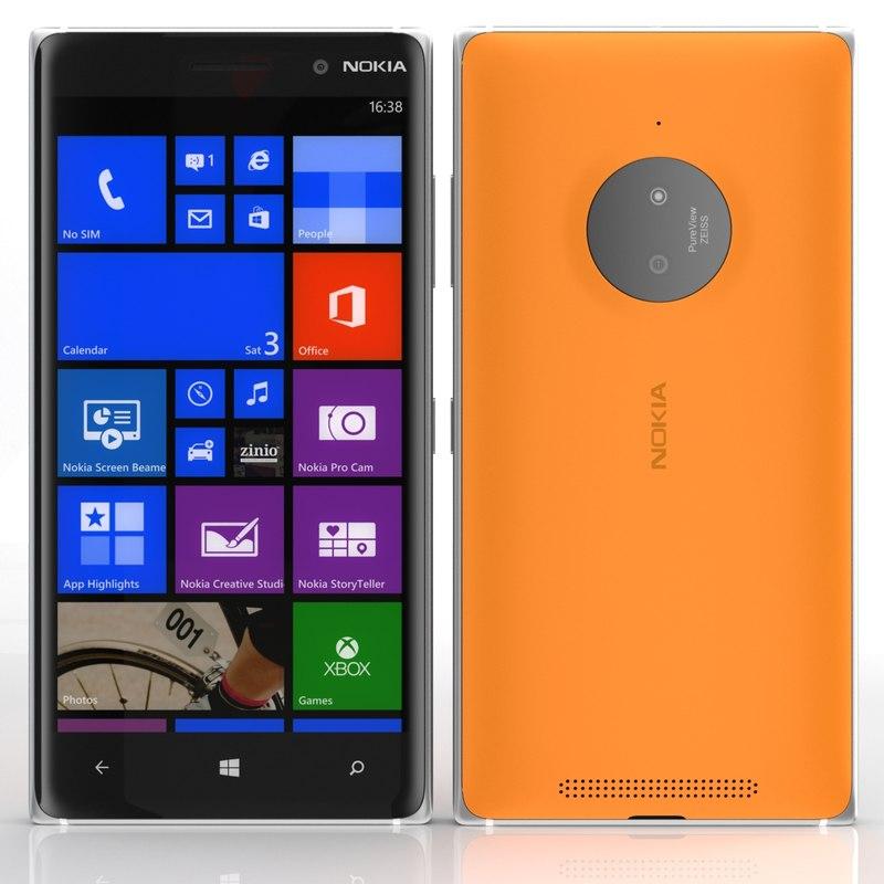 nokia lumia 830 3d c4d