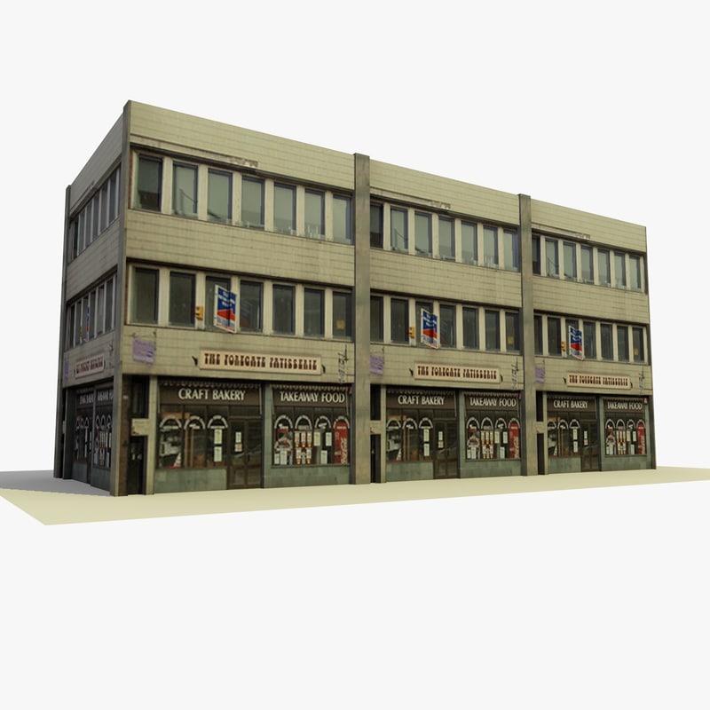 3d building 27