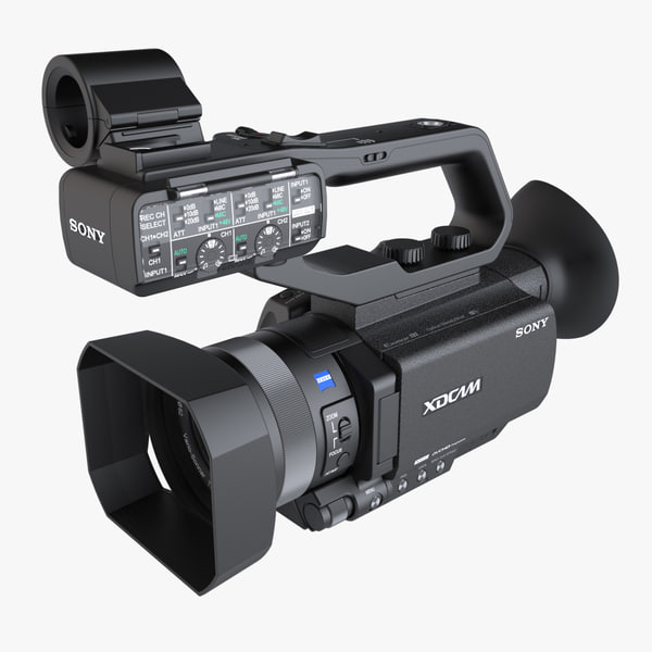 3d photoreal camera sony