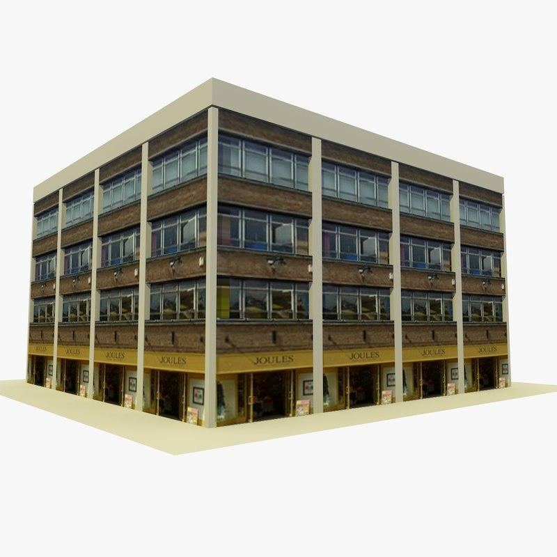 building 4 3d 3ds