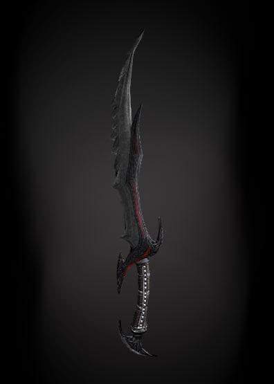 sword 3d c4d