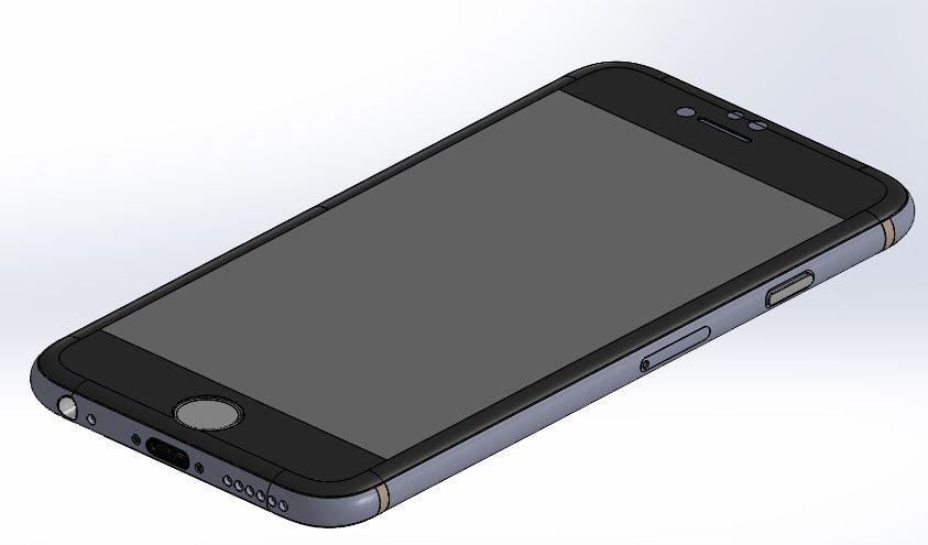3ds max apple phone 6