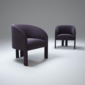 3d contemporary-bridge-armchair