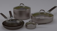 Pots and pans set 2