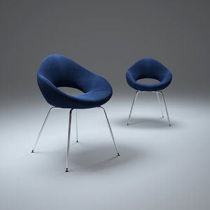 shark-chair 3d max