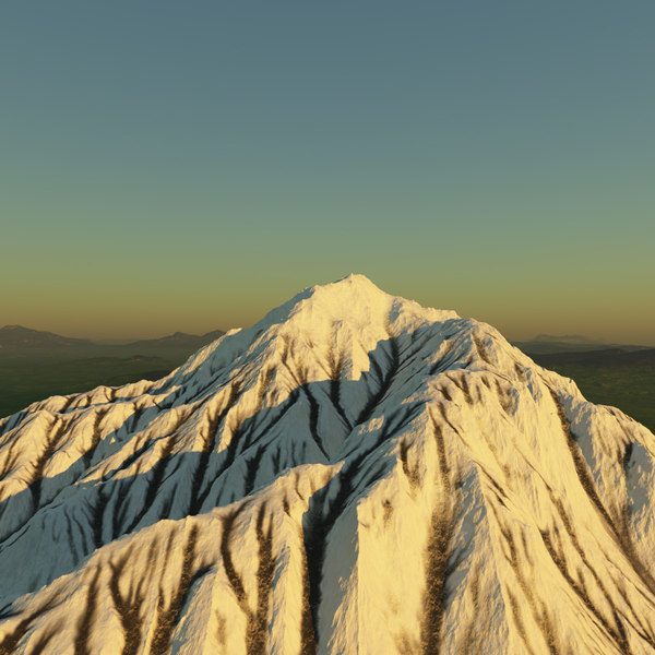 terragen mountain 3ds