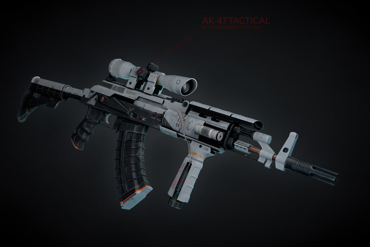 3d ak-47 tactical