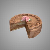 maya cutted cake