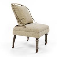 chair burleson corona render 3d max