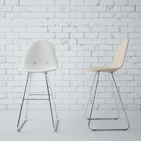 3d model eyes chair