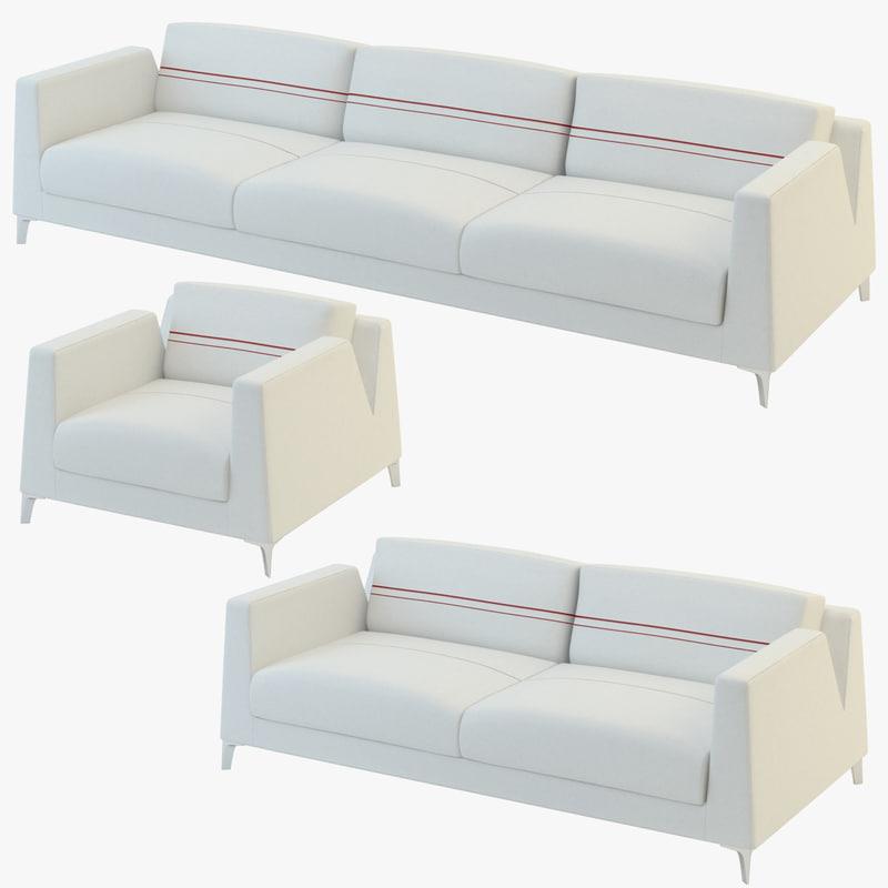 3d sofa calibra