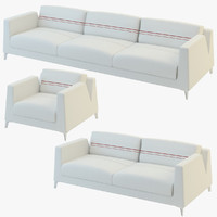 3d sofa calibra