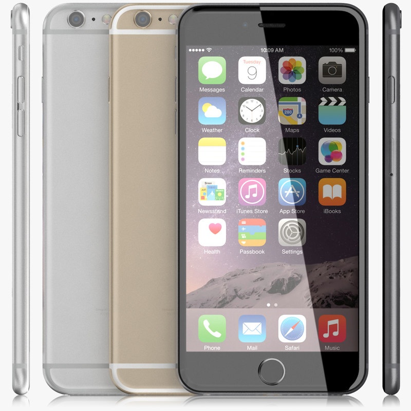 apple iphone 6 3d max