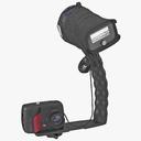 camera flash 3D models