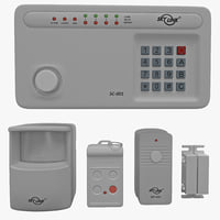 3d wireless alarm skylink sc-1000