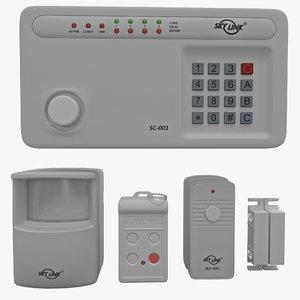 3d wireless alarm skylink sc-1000