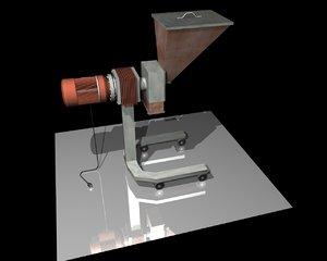 3d model machine