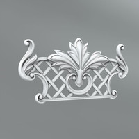 classical decoration ornamental 3d obj