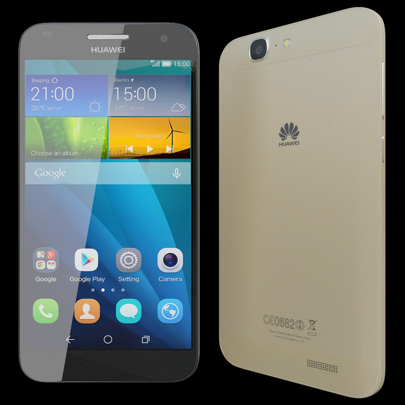 3d model realistic huawei ascend g7