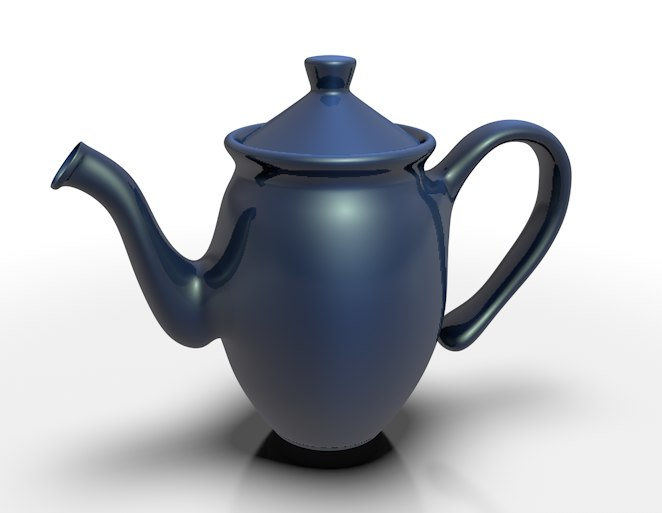 3d model teapot tea coffee