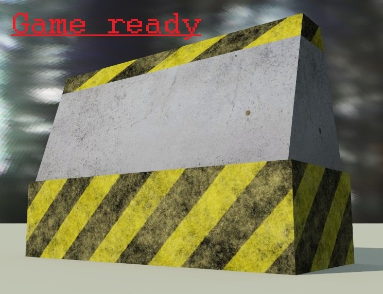 3ds barrier