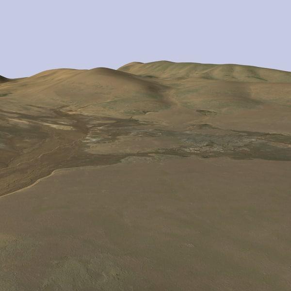 terrain mtx-02 landscape 3d max