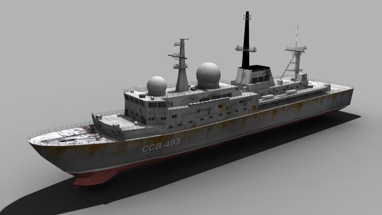 3d model balzam ship