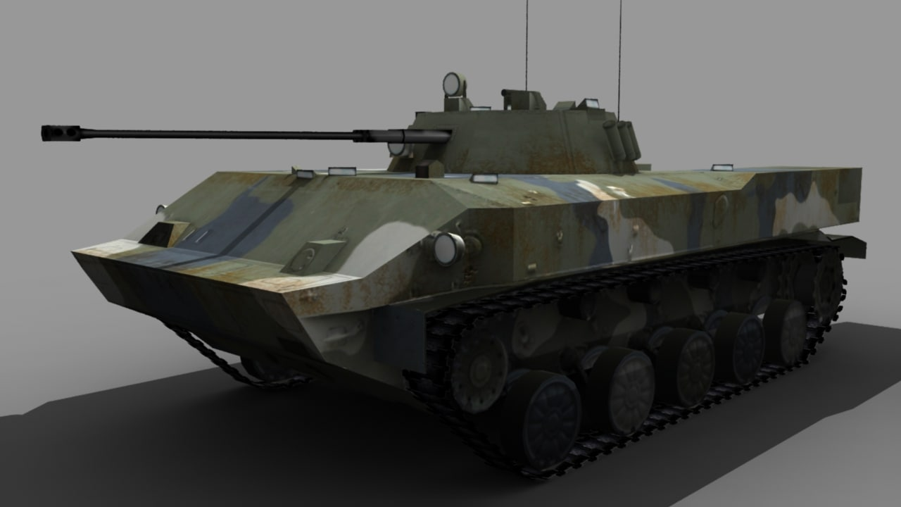 3d bmd-3 model