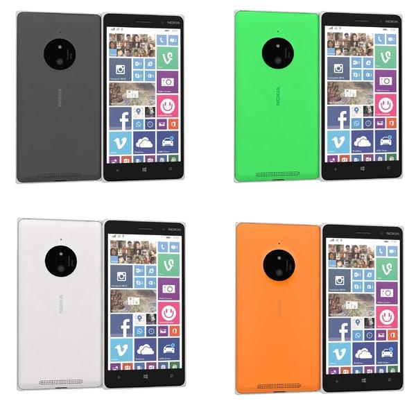 max nokia lumia 830 colors