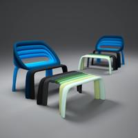 3ds max luca-nichetto-nuance-seat