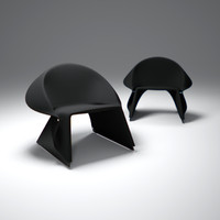3d model of fredrik-farg-coat-easy-chair