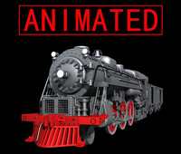 train animated