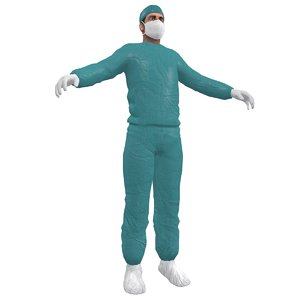 surgeon 3d max
