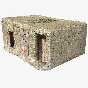 afghan house 20 3d model