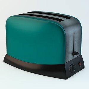 appliance 1960 retro 3d model
